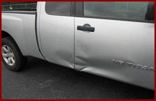 Collision side damage
