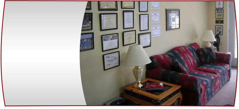 Inside of Byron Collision Center, INC office