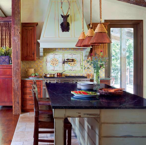 Kitchen cabinet & dining table