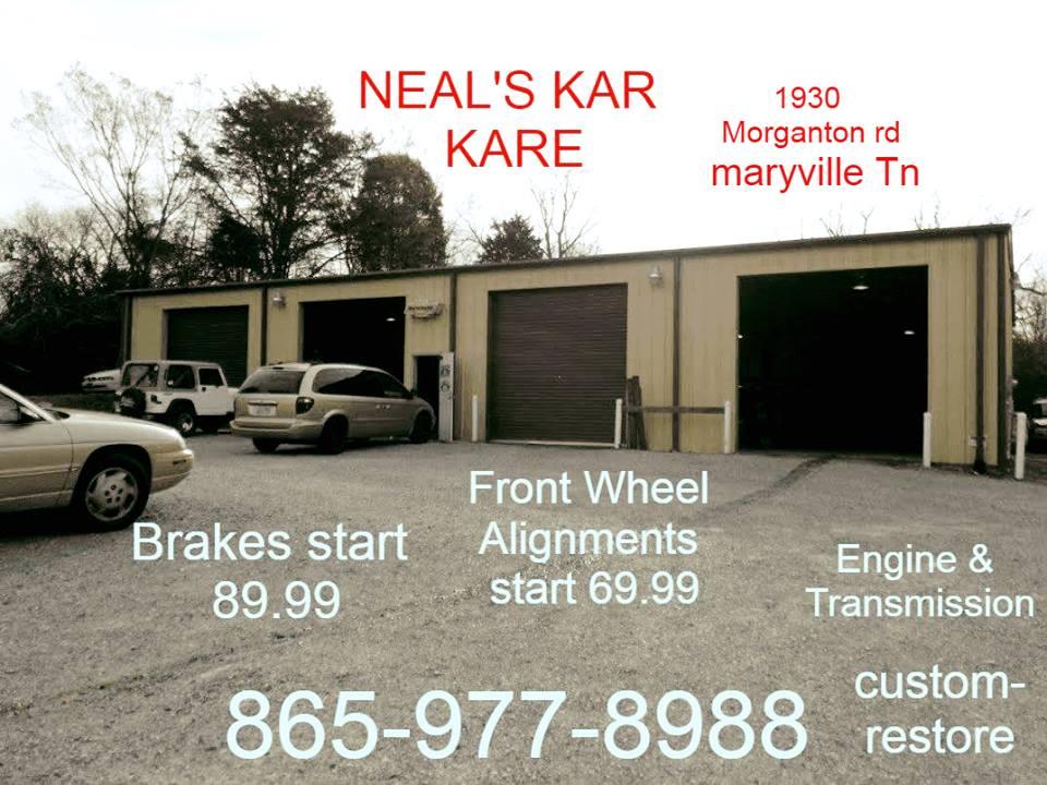 Neals karkare and karport sales auto repair maryville for Ideal motors maryville tn