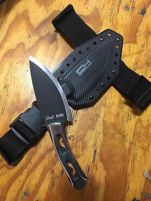 Ceramic coated knife