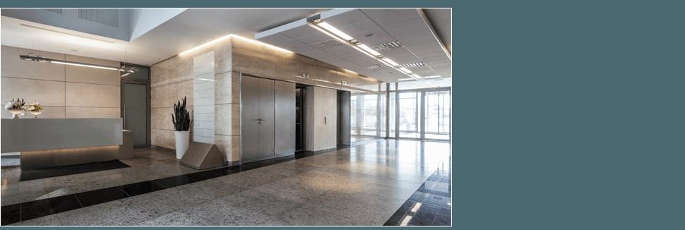 Commercial entryway