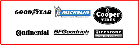 Goodyear | Michelin | Cooper Tires | Continental Tire | BF Goodrich | Firestone