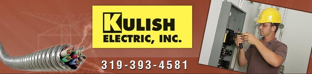 Electric Contractors - Cedar Rapids, IA - Kulish Electric, Inc.