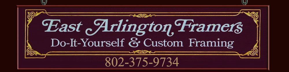 Custom Framing East Arlington, VT - East Arlington Framers