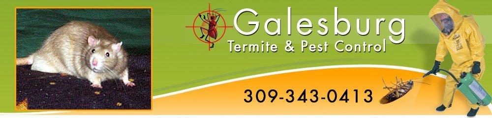 Exterminator Galesburg, IL - Galesburg Termite & Pest Control