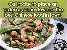 Chinese Restaurant  - Auburn, AL - China Garden - Chinese Food - Call today to place an order or come down for the best Chinese food in town!