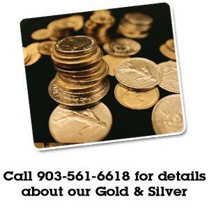Gold Silver - Tyler, TX  - Texican Rare Coin - stack of coins