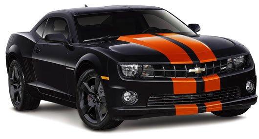 Black car - Chevrolet Camaro