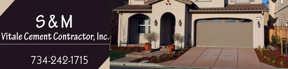 Stamped Concrete - Monroe, MI - S & M Vitale Cement Contractor, Inc.