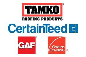 TAMKO, Certainteed, GAF, Owens Corning