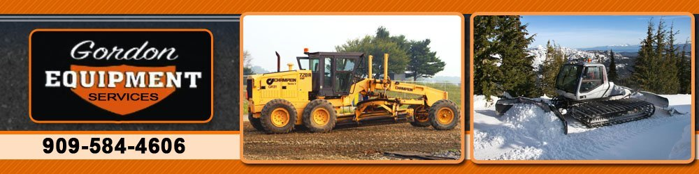 Paving Contractor - Big Bear Lake, CA - Gordon Equipment Services