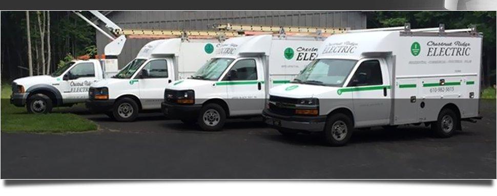 24 hour emergency service | Upper Black Eddy, PA | Chestnut Ridge Electric | 610-982-5615