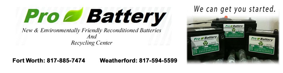 Battery Distributor - Fort Worth, TX - Pro Battery