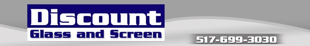Holt, MI  - Discount Glass and Screen - Glass Services