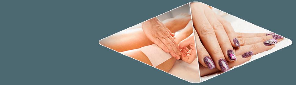 waxing nail salon services