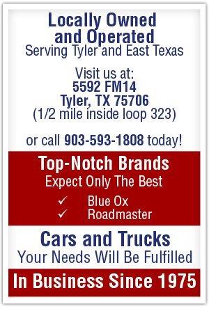 Trailer Supplies - Tyler, TX - Nick's Trailer Hitch Shop