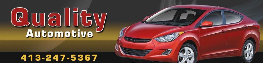 Auto Service Shop - West Hatfield, MA - Quality Automotive