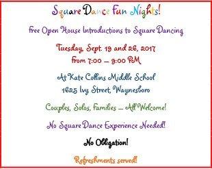 Spring 2017 Plus Level Graduates | Staunton, VA 24401 | Circle '8' Square Dance Club | 540-649-1109