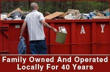 Trash Removal and Roll Off Dumpster Services  - Montgomery County, MD - B & B Refuse, Inc.