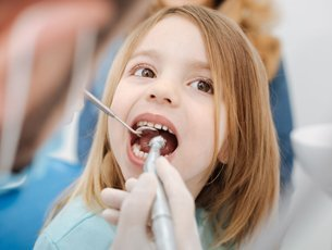 Pediatric dental service