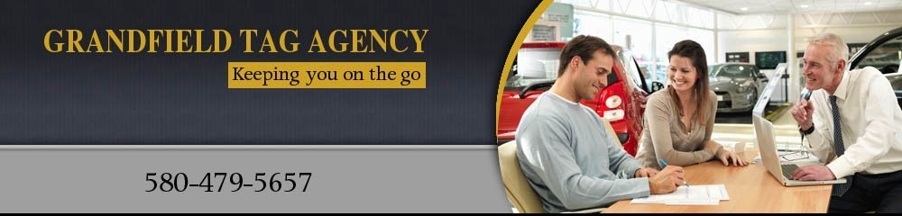 Vehicle Licensing Services - Grandfield, OK - Grandfield Tag Agency