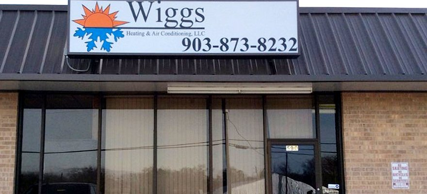 Wiggs Heating & Air Conditioning Storefront