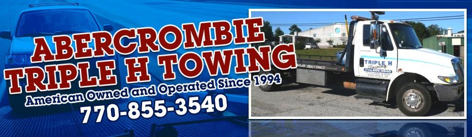 Towing and Roadside Assistance - Abercrombie Triple H Towing - Douglasville, GA