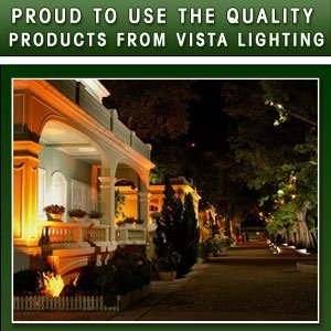 Landscape Lighting - Salisbury, NC  - Wootten's Irrigation & Landscaping - Landscape Lighting4 - Proud To Use The Quality Products From Vista Lighting