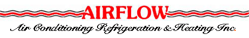 Airflow Air Conditioning, Refrigeration & Heating Inc - logo