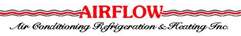 Airflow Air Conditioning, Refrigeration & Heating Inc - logo