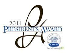 2011 Presidents Award