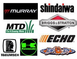 Brigs & Stratton, Shindaiwa, Echo, Tecumseh, Kawasaki, Mtd, Murray