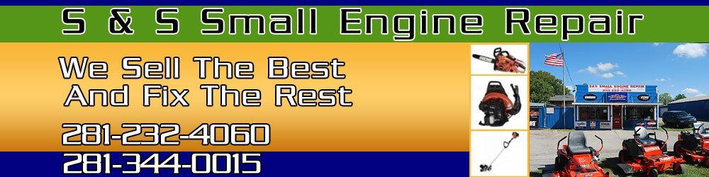 Lawn Mover Repair - Rosenberg, TX - S & S Small Engine Repair