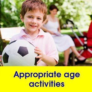 Child development - Shavertown, PA - Back Mountain Day Care - Appropriate age activities