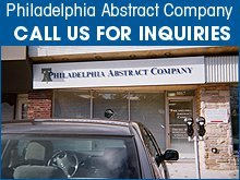 Insurance Services - Drexel Hill, PA - Philadelphia Abstract Company
