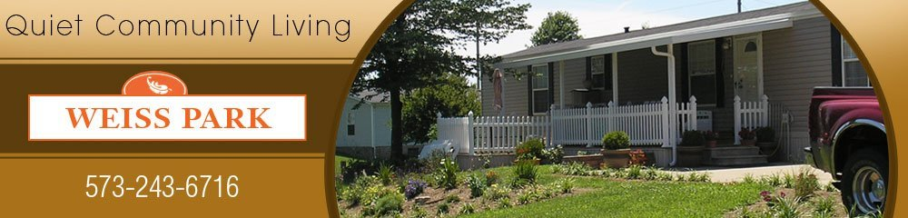 Manufactured Homes And Duplexes - Jackson, MO - Weiss Park Home Community