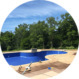 In-ground pool