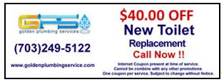 Toilet    Ashburn, VA   Golden Plumbing Services   703-249-5122