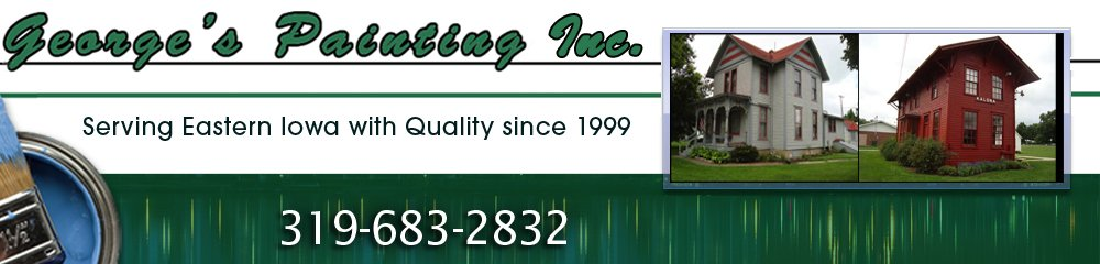 Painting Contractor - Kalona, IA - George's Painting Inc