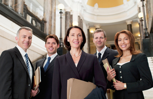 A team of attorney