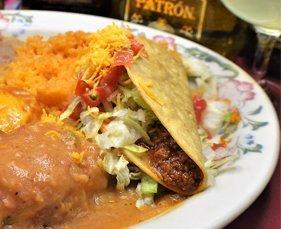Taco and Enchilada