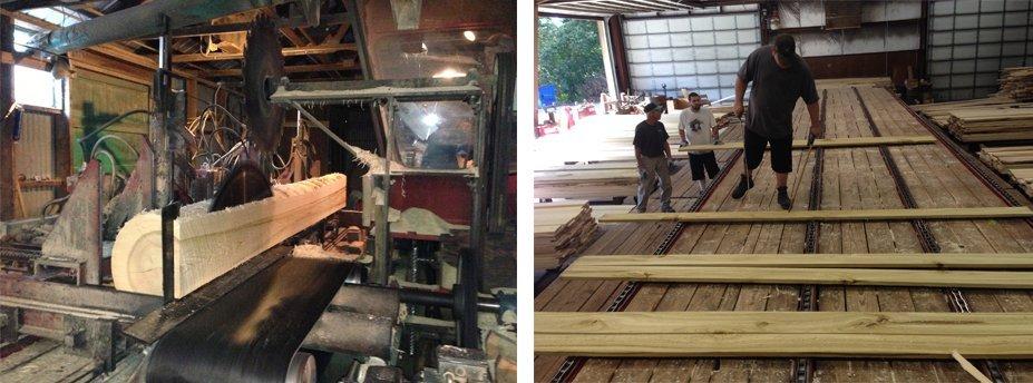 Sawmill | Douglassville, PA | Gift Lumber Co Inc | 855-229-3710