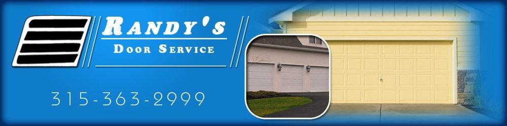 Garage Door Specialists Oneida, NY   Randyu0027s Door Service