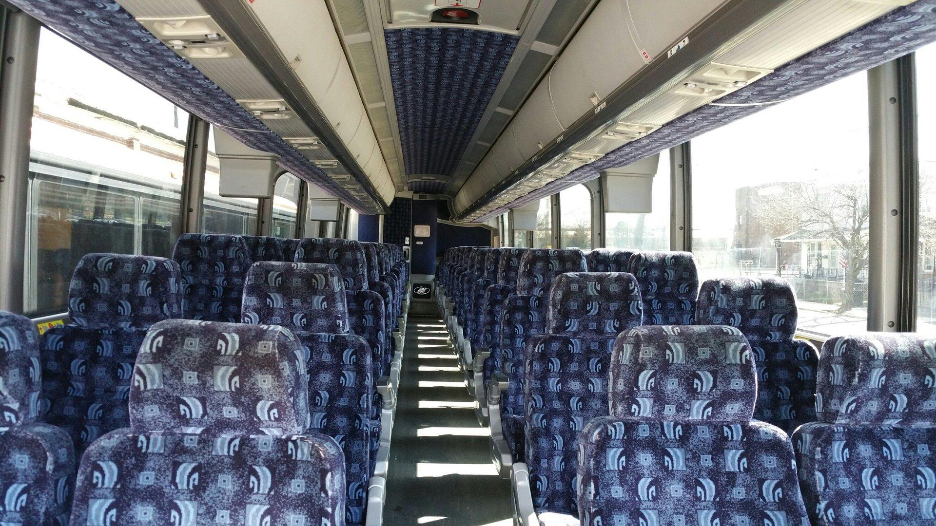56 Passenger Luxury Coach Bus