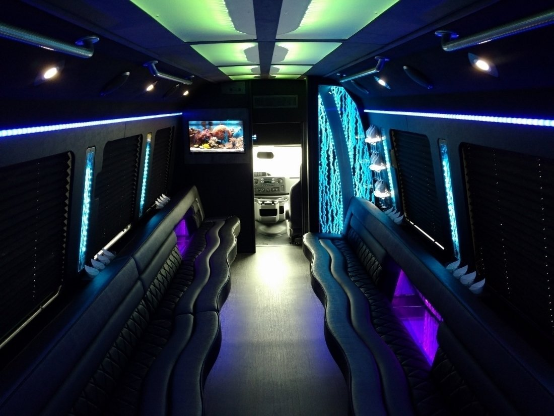 Brand New 24 Passenger Party Bus