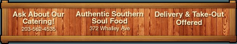 Soul Food Restaurant Menu - New Haven, CT - Mama Mary Soul Food