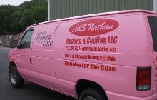 A & S Nathan Heating & Cooling LLC Van