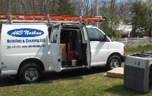 A & S Nathan Heating & Cooling LLC Van