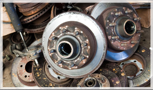 salvaged auto parts